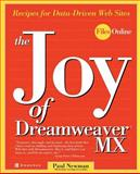 The Joy of Dreamweaver MX, Paul Newman, 0072224649