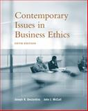 Contemporary Issues in Business Ethics, DesJardins, Joseph R. and McCall, John J., 0534584640