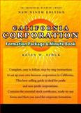 California Corporation Formation Package and Minute Book, Finck, Kevin W., 1555714641