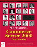 Commerce Server 2000, Huckaby, Tim and Harrison, Mark, 1861004648