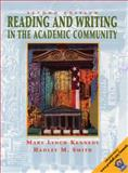 Reading and Writing in the Academic Community with 2001 APA Guidlines, Kennedy, Mary Lynch and Smith, Hadley M., 0130304646