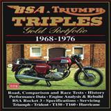 BSA and Triumph Triples, 1968-1976, R. M. Clarke, 1855204649