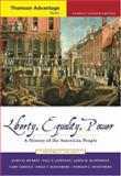 Liberty, Equality, Power Vol. 1 : A History of the American People to 1877, Murrin, John M. and Gerstle, Gary, 0495004650