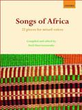 Songs of Africa : 22 pieces for mixed Voices, , 0193804654