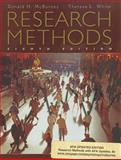 Research Methods with APA Updates, Revised Edition, McBurney, Donald H. and White, Theresa L., 049590466X