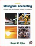 Managerial Accounting, Hilton, Ronald W., 0072394668