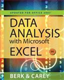 Data Analysis with Microsoft® Excel® 2007, Berk, Kenneth N. and Carey, Partrick, 0538494670