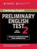 Cambridge Preliminary English Test 2 with Answers, Cambridge Esol, 0521754674