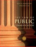 The Law of Public Communication 2008, Middleton, Kent R. and Lee, William E., 0205484670