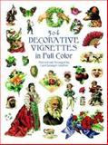 504 Decorative Vignettes in Full Color, , 0486404676