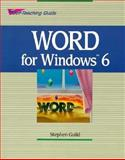 Word for Windows 6, Stephen Guild, 0471304670