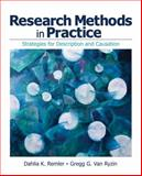 Research Methods in Practice : Strategies for Description and Causation, Remler, Dahlia K. and Van Ryzin, Gregg G., 1412964679