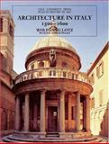 Architecture in Italy, 1500-1600, Lotz, Wolfgang, 0300064683