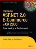 ASP. NET 2.0 e-Commerce in C# 2005, Cristian Darie and Karli Watson, 1590594681