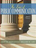 The Law of Public Communication 2007, Middleton, Kent R. and Lee, William E., 0205484689