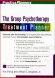 The Group Therapy Treatment Planner, Jongsma, Arthur E., Jr., 0471254681
