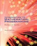 Introduction to Mathematical Programming, Walker, Russell C., 1256944688