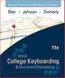 GREGG College Keyboarding and Document Processing, Ober, Scot and Johnson, Jack, 0077344685