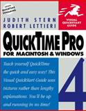 QuickTime Pro 4 for Macintosh and Windows, Stern, Judith and Lettieri, Robert A., 0201354691
