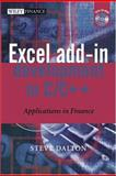 Excel Add-In Development in C/C++, Steve Dalton, 0470024690