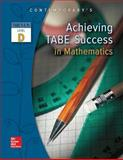 Achieving TABE Success in Mathematics, TABE 9 and 10 Level D 1st Edition
