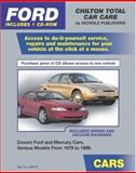 Ford Cars, 1979-1999, Chilton Automotive Editorial Staff, 1401894704