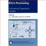 RNA Processing 9780199634705