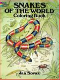 Snakes of the World Coloring Book, Jan Sovak, 0486284719