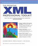 The XML Professional Toolkit, Walmsley and Holman, 0130994715