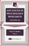 Advances in Psychology Research, , 1590334728