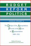 Budget Reform Politics 9780521354721