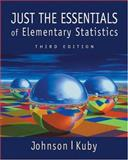 Just the Essentials of Elementary Statistics, Johnson, Robert Russell and Kuby, Patricia, 0534384722