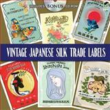 Vintage Japanese Silk Trade Labels, Dover, 0486474720