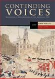 Contending Voices - To 1877, Hollitz, John, 0495904724