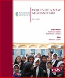 Voices of a New Afghanistan, Linder, Rebecca and Barton, Frederick, 0892064722