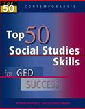 Top 50 Social Studies Skills for GED Success - Student Text Only, Contemporary and Mitchell, Robert (Bob), 007704472X
