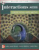 Interactions Access - Listening /Speaking SB + eCourse Code, Thrush, Emily and Baldwin, Robert, 0077194721
