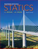 Engineering Mechanics - Statics, Meriam, J. L. and Kraige, L. G., 0470614730