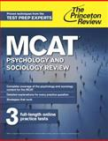 MCAT Psychology and Sociology Review, Princeton Review, 0804124736