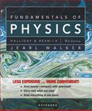 Fundamentals of Physics Extended, Halliday, David and Resnick, Robert, 0470564733