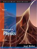 Fundamentals of Physics Volume 2, Halliday, David and Resnick, Robert, 0470044748
