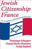Jewish Citizenship in France : The Temptation of Being among One's Own, Schnapper, Dominique and Bordes-Benayoun, Chantal, 141281474X