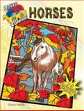 3-D Coloring Book--Horses, Marty Noble, 0486494748