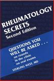 Rheumatology Secrets, West, Sterling G., 1560534745