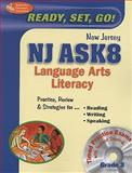NJ ASK8 Language Arts Literacy, Research & Education Association Editors, 0738604747