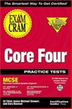 MCSE Core Four Practice Test Exam Cram, Tittel, Ed and Novosel, Gary, 1576104753