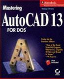 Mastering AutoCAD Rel.x for DOS, Omura, George, 078211475X