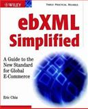 EbXML Simplified, Eric Chiu, 0471204757
