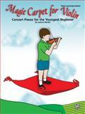 Magic Carpet for Violin, Joanne Martin, 0739044753