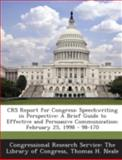 Crs Report for Congress, Thomas H. Neale, 1295024756